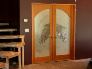 Eagle Doorlites installed2